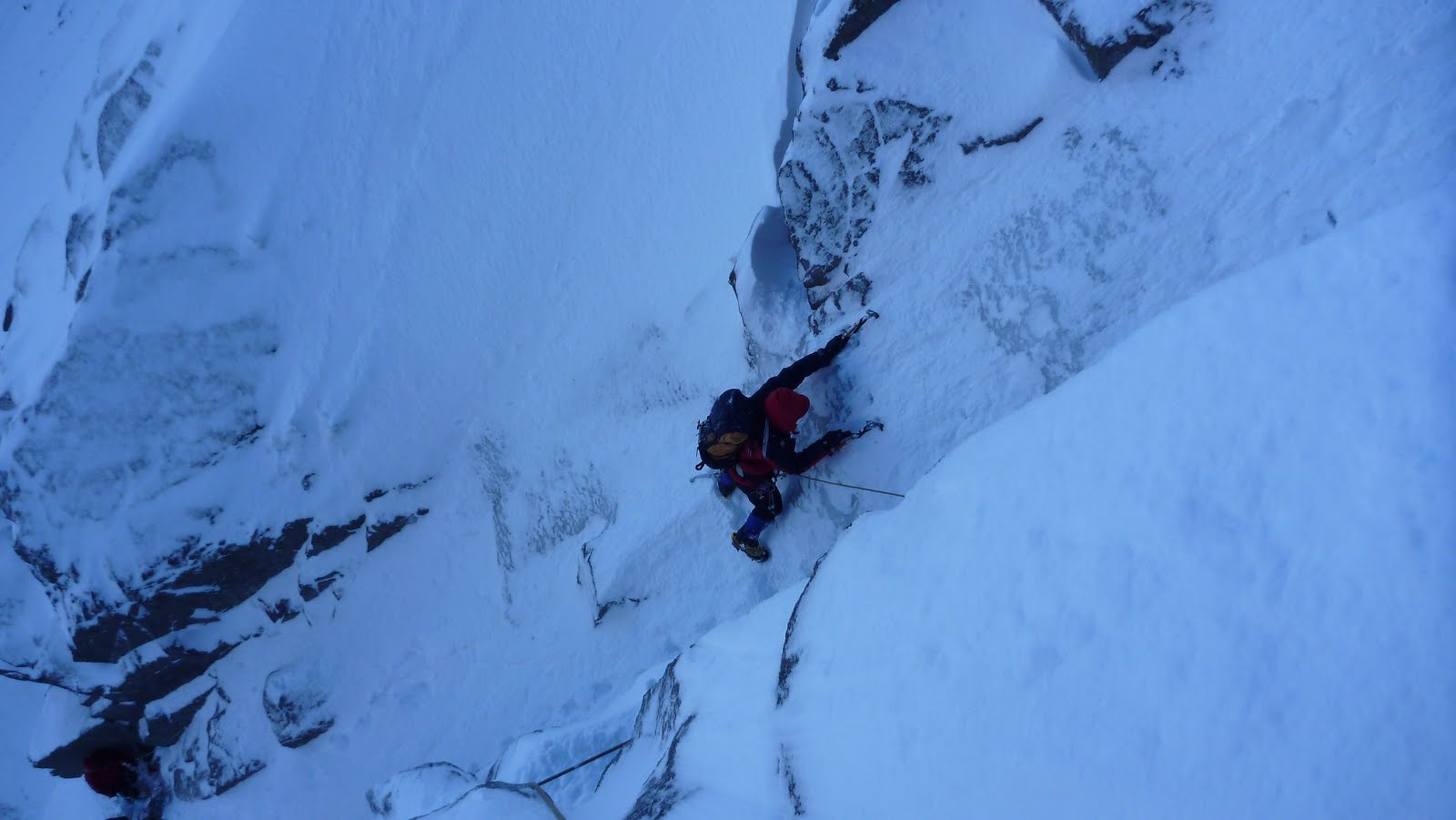 Great conditions on Pateys Route, 100 kb
