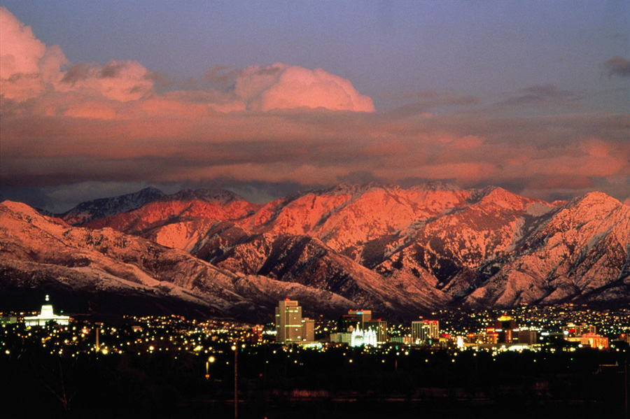 Salt Lake City, Utah, home to the USA's Outdoor Retailer (OR) Show, 218 kb