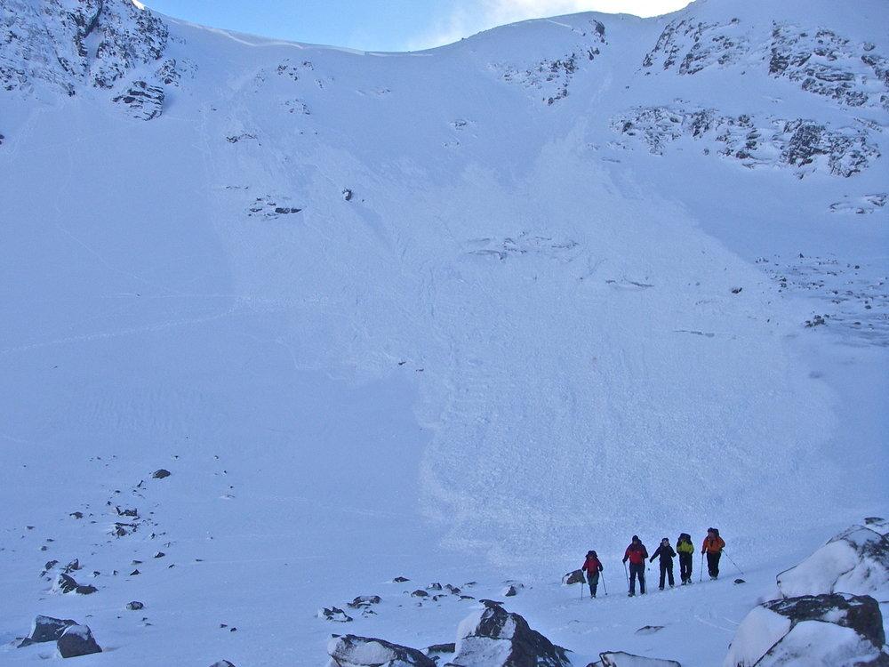Avalanche Goat Track Coire an Sneachda Feb 2011, 116 kb