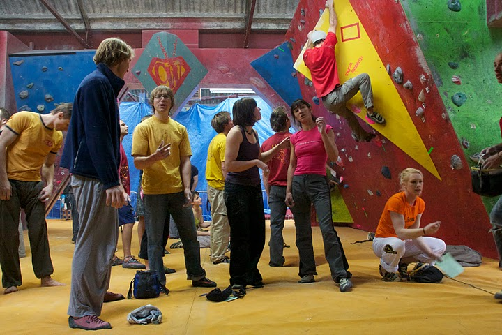 In the qualifiers you can climb alongside some of the best boulderers in Europe, 104 kb
