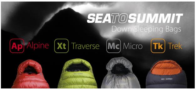 Sea to Summit sleeping bags, 123 kb