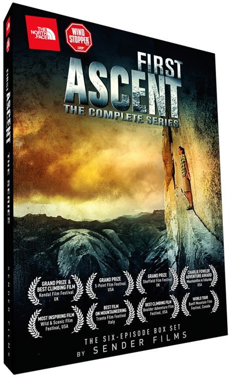 First Ascent - Complete Series DVD Cover, 83 kb