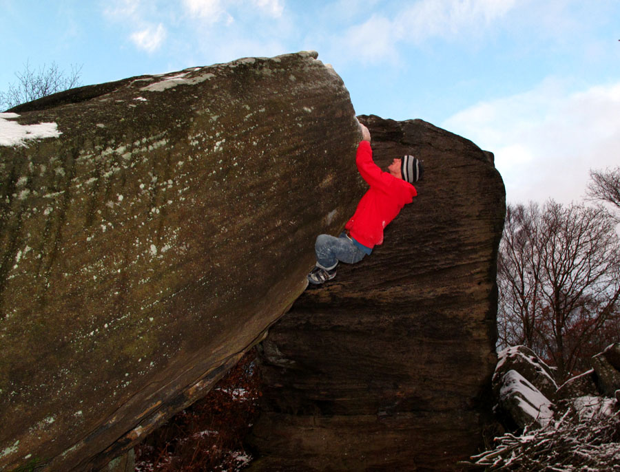 Take A Bough - Font 7a+ at Brimham, Yorkshire, 162 kb