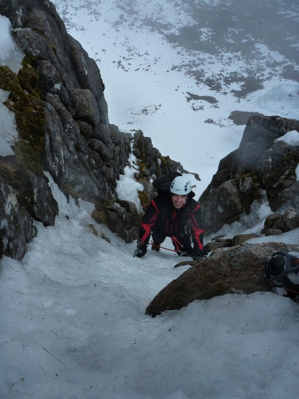 23 March 2011 Final Pitch, The Runnel, Coire an t'Sneachda, Cairngorms, 86 kb