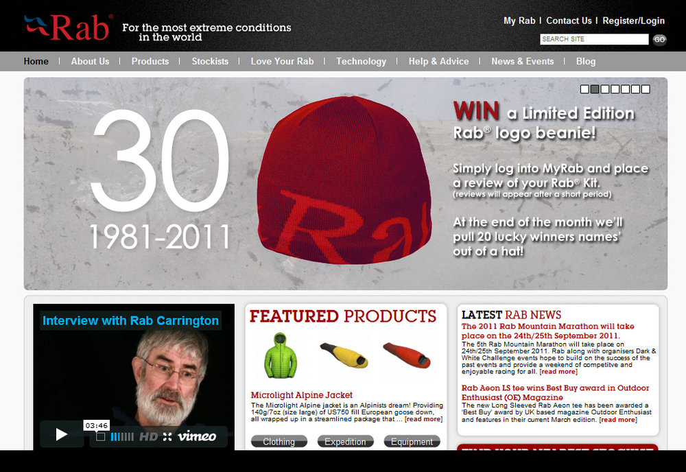 New Rab Website, 192 kb