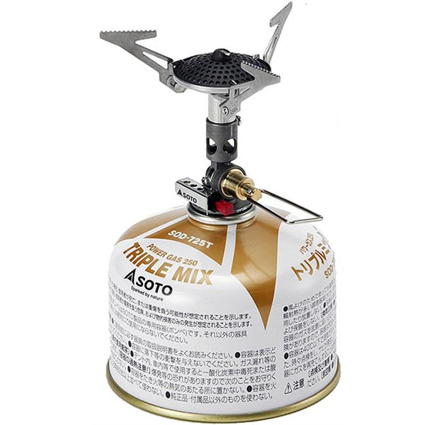 SOTO Micro Regulator Gas Stove, 69 kb