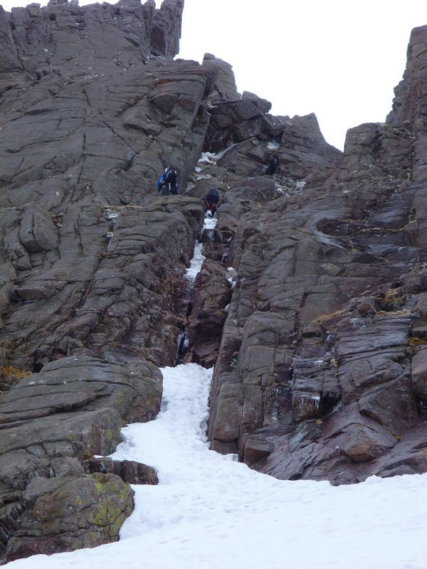 Climbers in Red Gully - hmmm!!, 105 kb