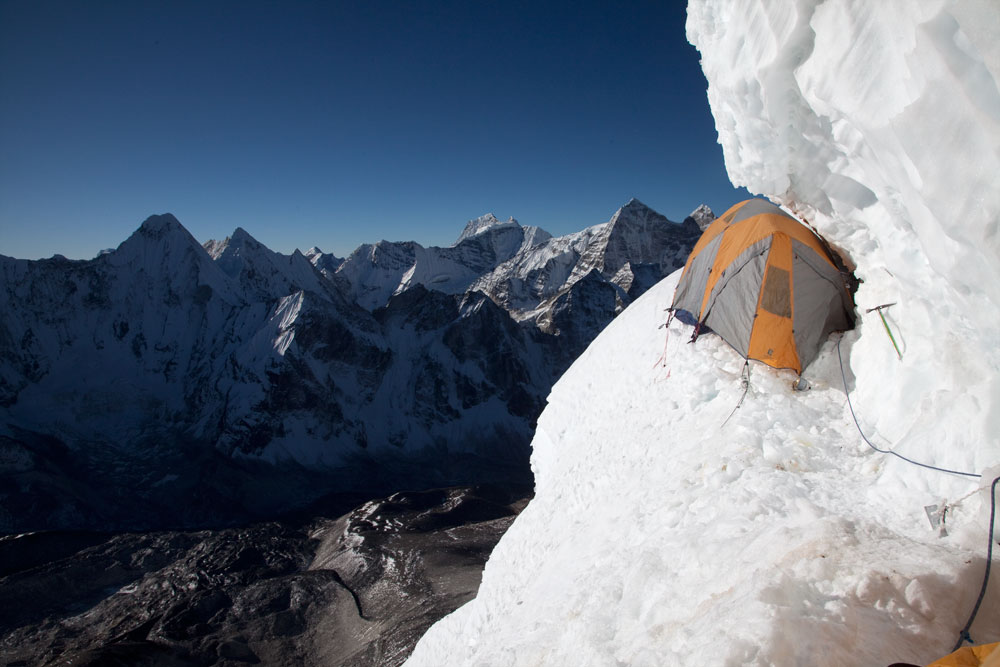 Camp 2.9 on Ama Dablam, 101 kb