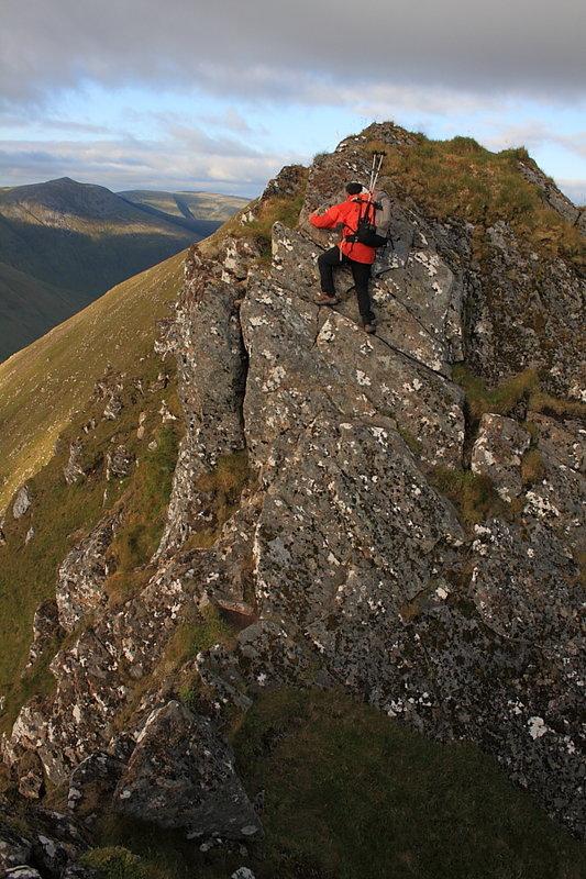 On the Lurg Mhor ridge, 133 kb