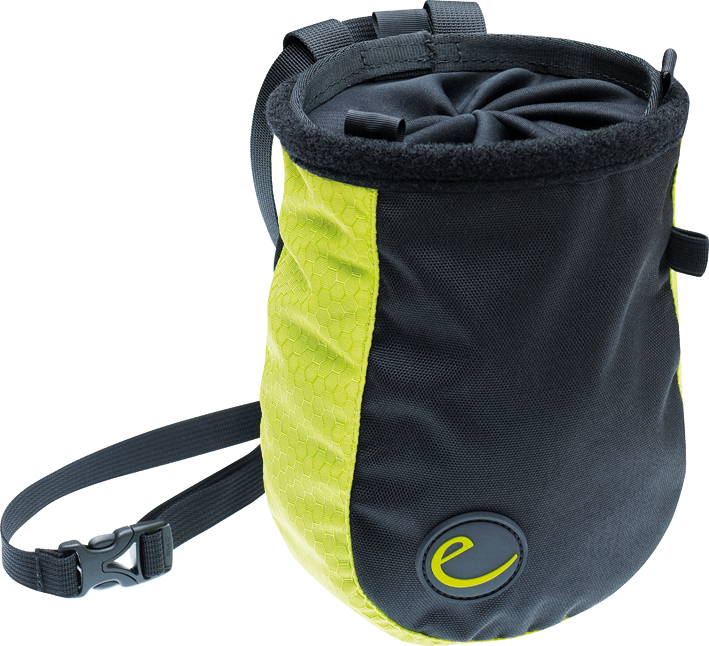 Edelrid presents a new chalk bag, with a design twist. [TO GO LIVE BY 6/5/11] #1, 237 kb