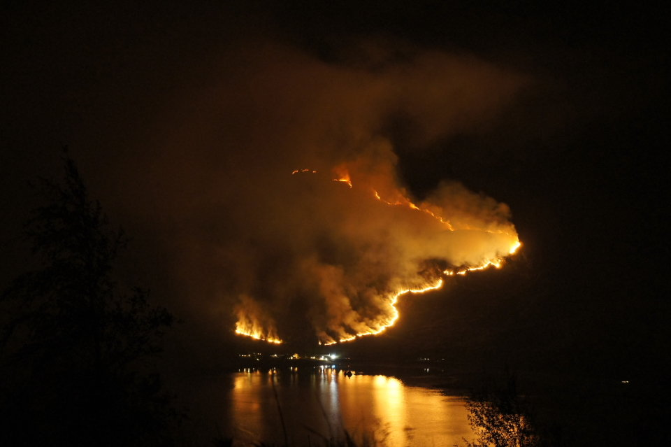 Fire at Kintail, 50 kb