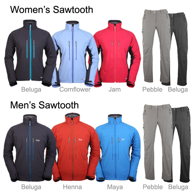 The Sawtooth Range from Rab® #1, 100 kb