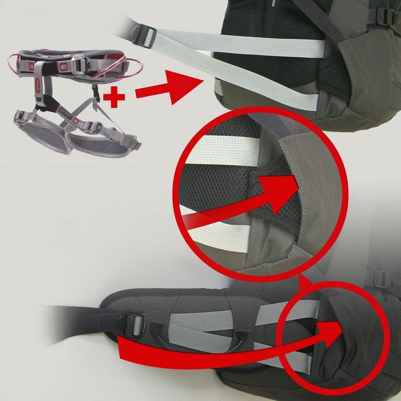 Tuckaway harness, 135 kb