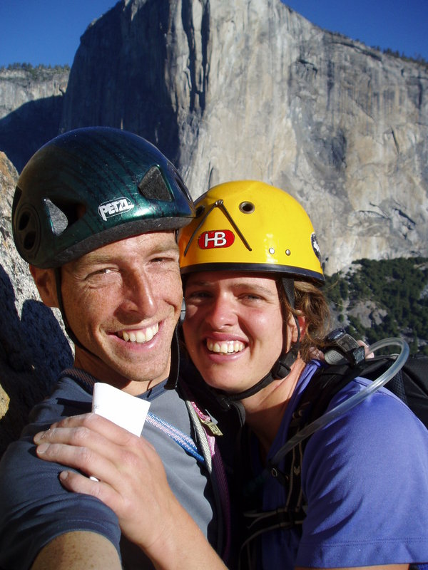 Me and Jenny climbing in Yosemite, 104 kb