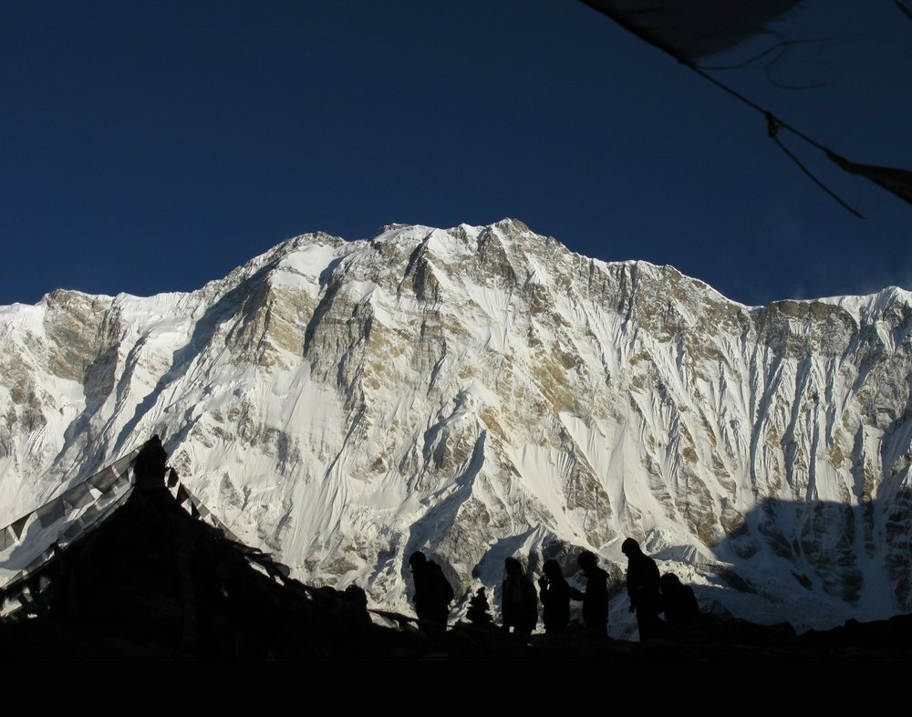 Annapurna South, 134 kb