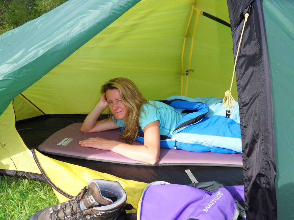 Testing the Therm-a-rest Prolite Plus Women's Camping Mat, 212 kb
