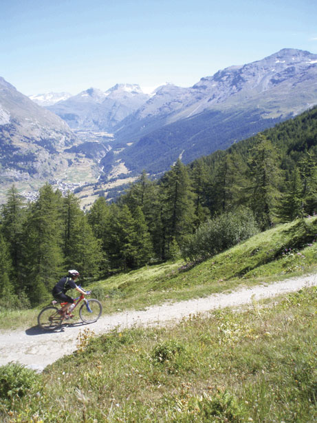 Mountain biking in the Maurienne, 87 kb