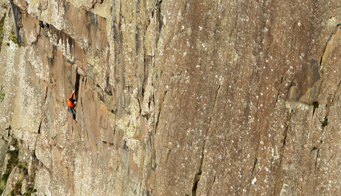 Ricky Bell on his 60m epic new route The Rathlin Effect, 137 kb