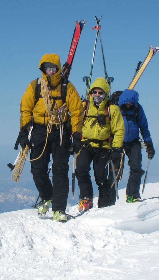 The summit of Mont Blanc, 71 kb