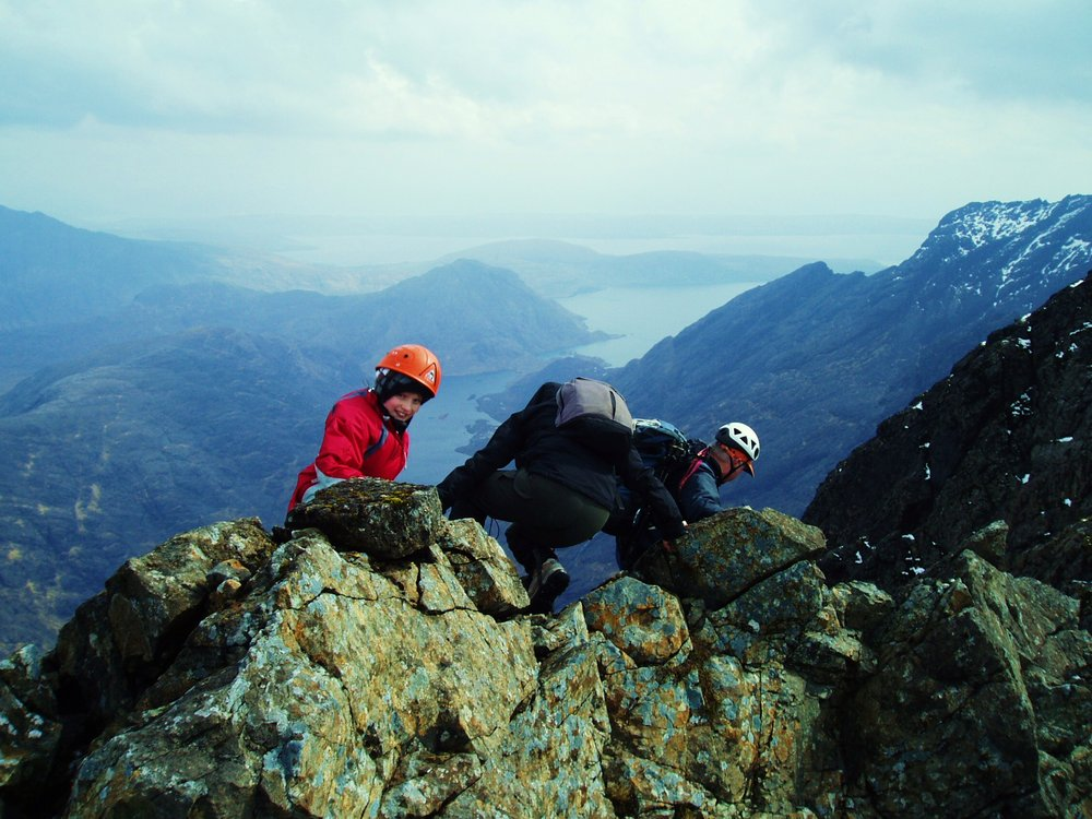 cuillin ridge, 151 kb