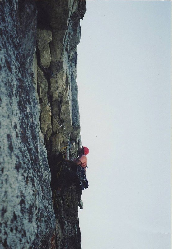 The crux pitch of The Chouinard-Herbert, 71 kb