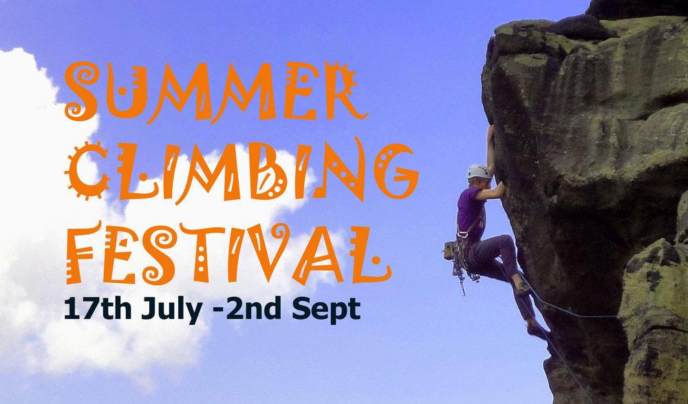 Summer Climbing Festival at Harrogate Climbing Centre, 147 kb