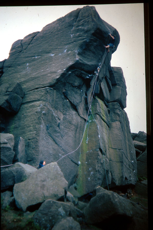 "Seb going for it on Parthian Shot during his attempts on the line in 1997. ""Some came out of your bottom..."", 122 kb"