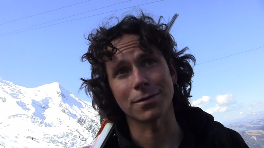 Colin Haley in Chamonix, France, 88 kb