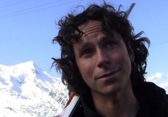 Colin Haley in Chamonix, France, 34 kb