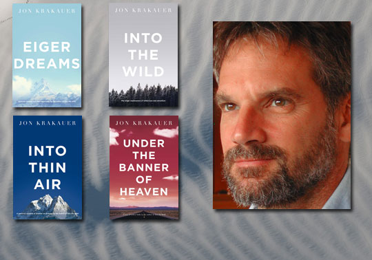 an analysis of the book into the wild by jon krakauer Jon krakauer's non-fiction book into the wild has several major themes, including the escape into the frontier, the father-son relationship, materialism and manhood.