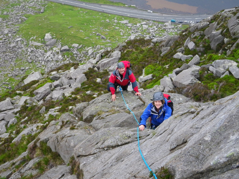 Using the Beal Scrambler rope while guiding on Milestone Continuation, 242 kb