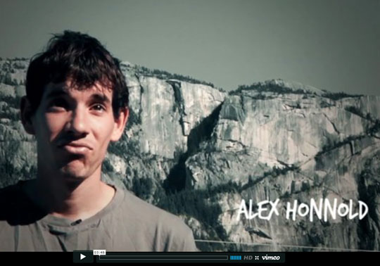 Alex Honnold Video Portrait, 39 kb