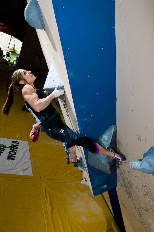 American Alex Puccio came in 3rd place, 158 kb