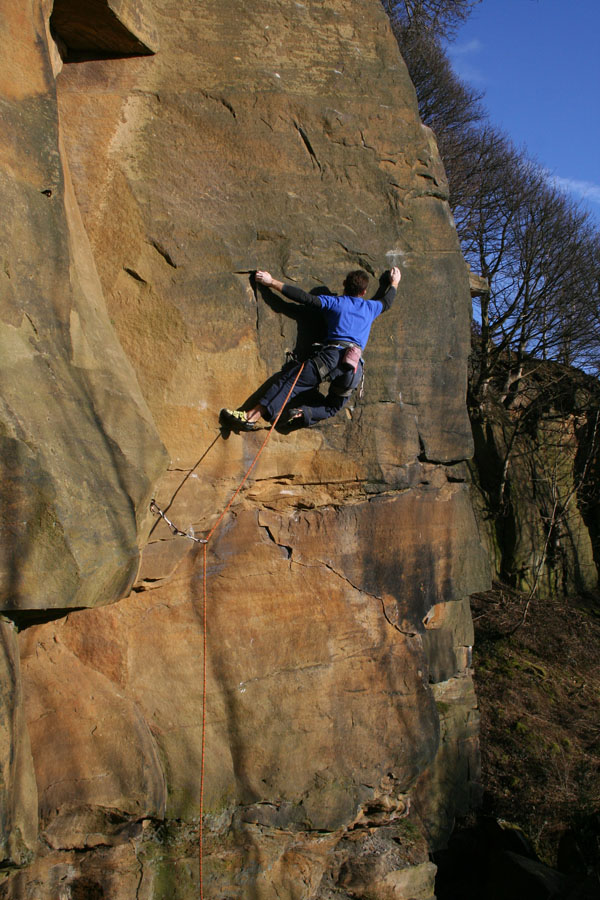 Dave Stucliffe makes the long awaited repeat of Cripples Revenge - E6, 167 kb
