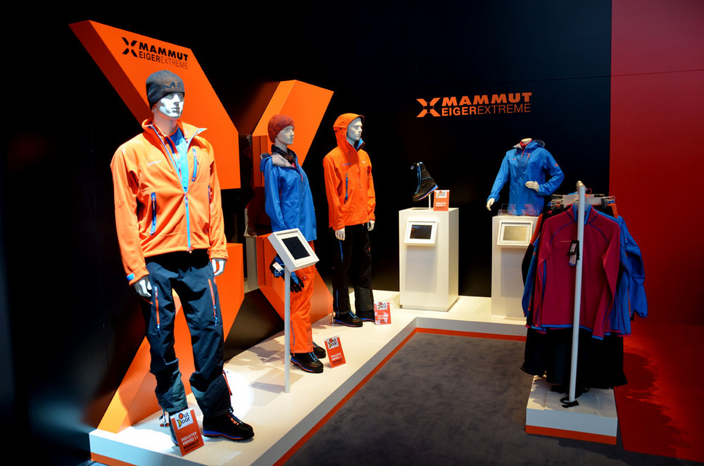 Mammut officially launched their Eiger Extreme range. Available in the UK in September., 135 kb