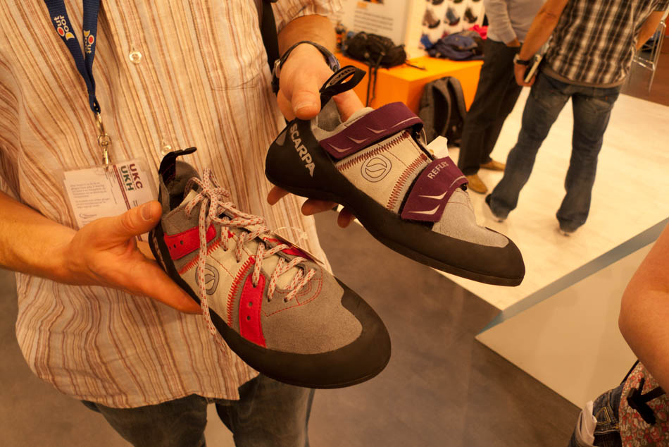 Scarpa Helix and Reflex - new shoes with old names for 2012, 121 kb