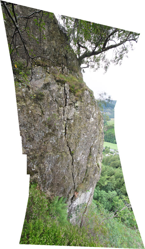 Castle Rock of Triermain North Buttress 1, 107 kb