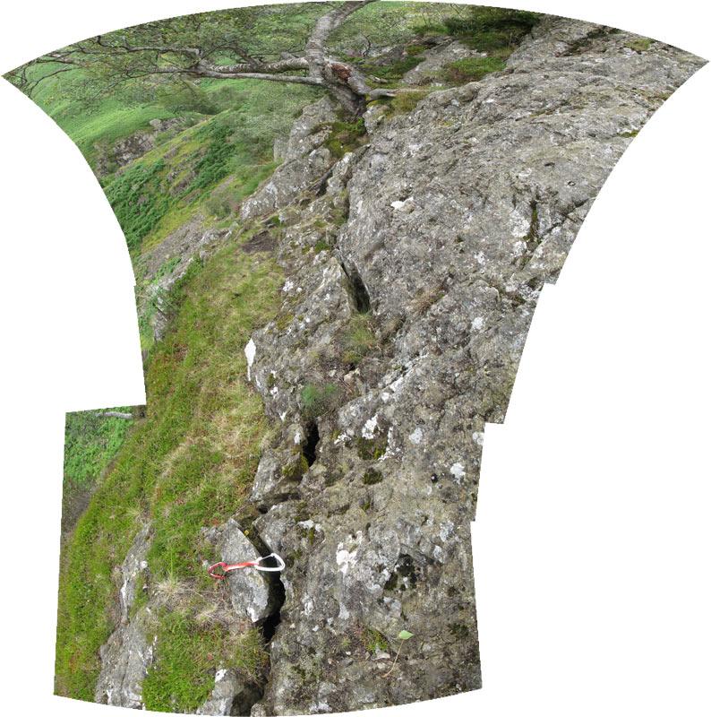 Castle Rock of Triermain North Buttress 4, 159 kb