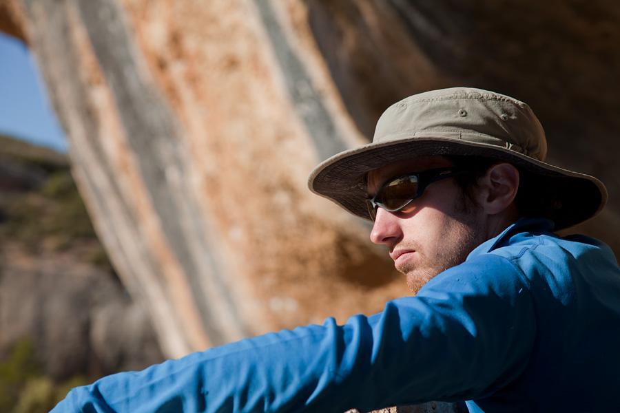 James McHaffie in Margalef, Spain, 116 kb