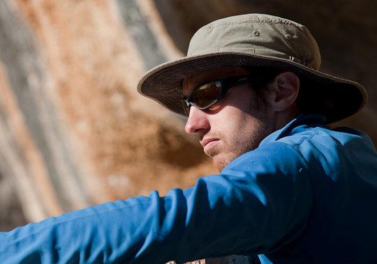 James McHaffie in Margalef, Spain, 40 kb