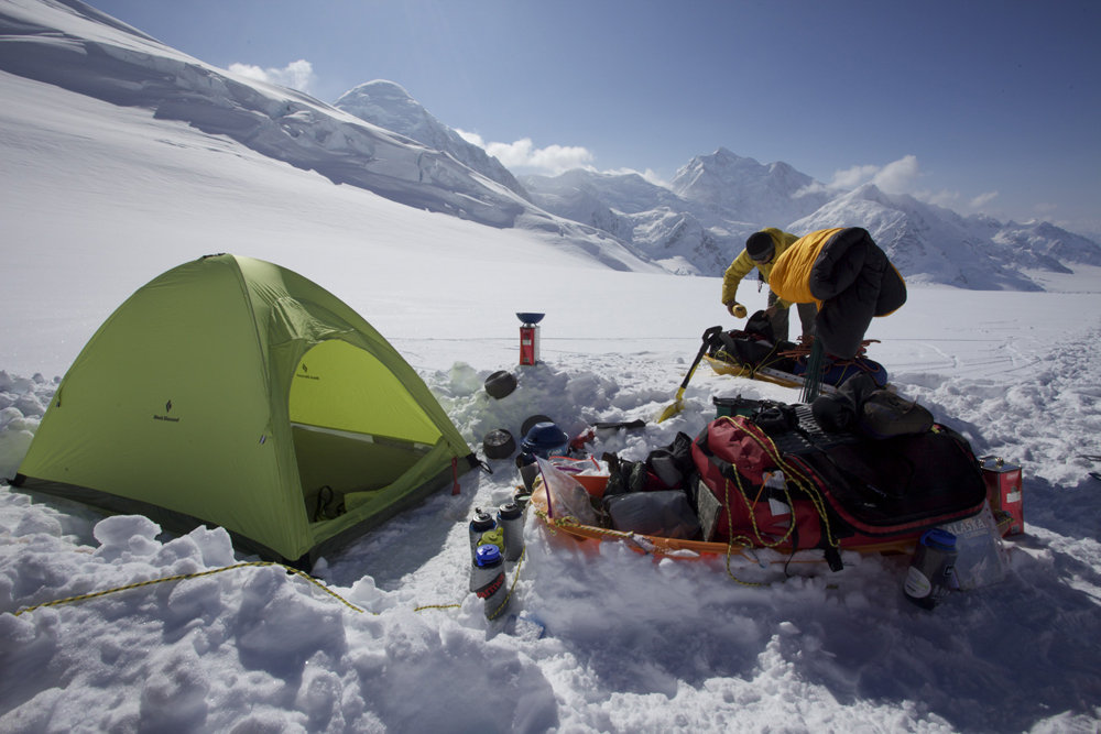 BD Firstlight tent on Denali, 133 kb