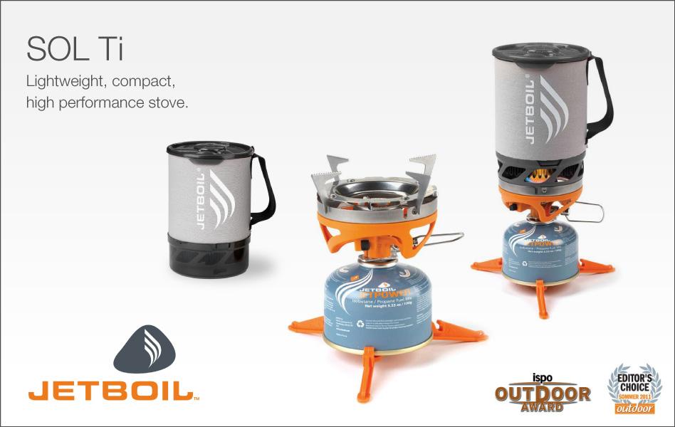Jet Boil Sol Ti Premium Cooking System #1, 100 kb