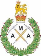 Army Mountaineering Association logo, 9 kb