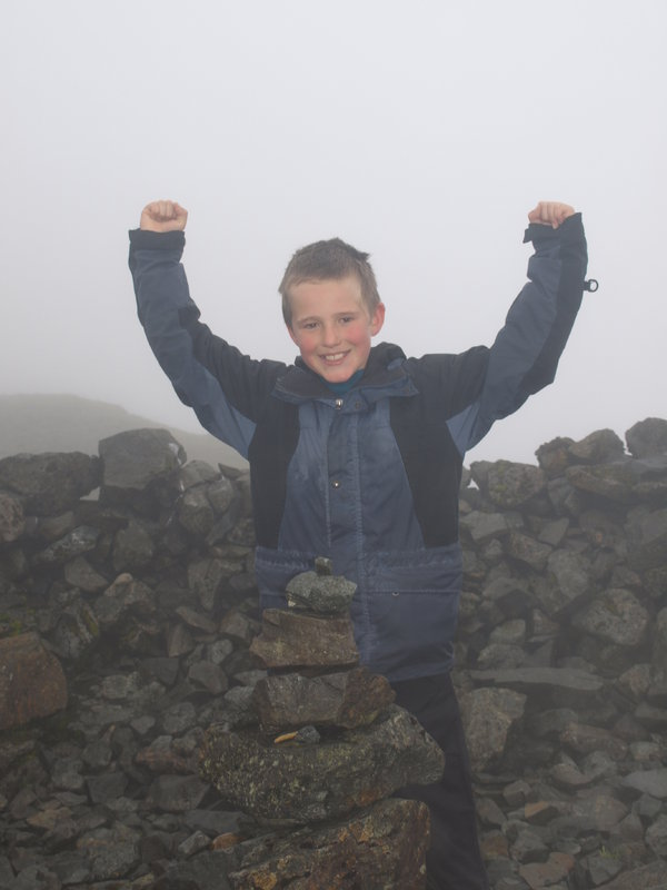 Ben on Ben More, the final Munro, 74 kb