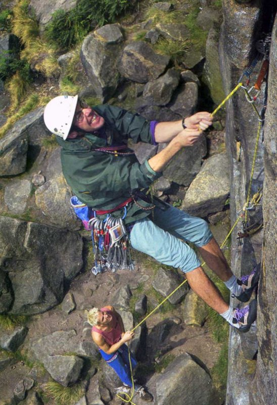 Ben Moon is a great belayer. He didn't drop me once., 111 kb