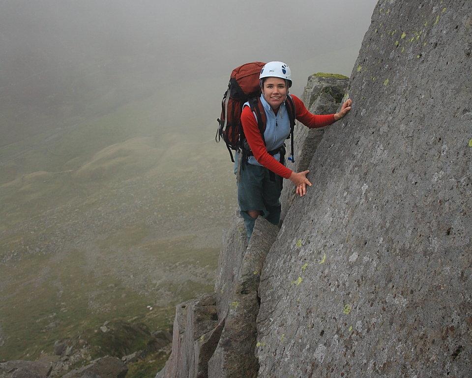 St.Sunday Crag's brilliant Pinnacle Ridge, 156 kb