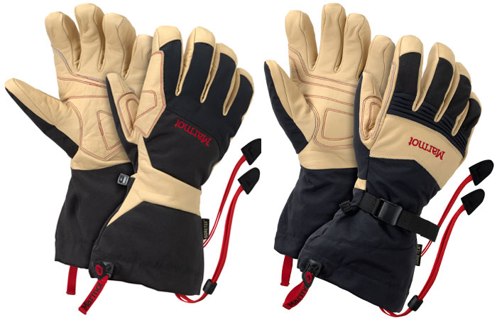 Ultimate Ski Glove (Left) and Ultimate Guide Glove (Right), 60 kb