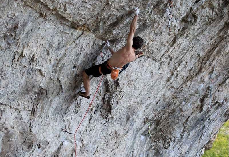 Joe Kinder on Bad Girls Club, ~9a, Rifle, Colorado, 128 kb