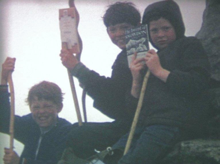 Snowdon, my first summit aged 7, 53 kb