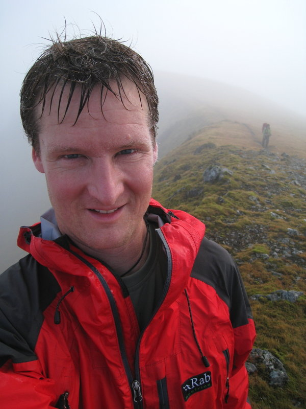 Wet and warm on Beinn Eibhinn; testing conditions for even the best jacket  , 82 kb
